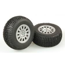 HELION TIRES. MOUNTED. SILVER WHEEL. PAIR (DOMINUS. SC) - HLNA0077