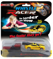WHISTLE RACER Series 1 Sports car Blow and Go - WRS1