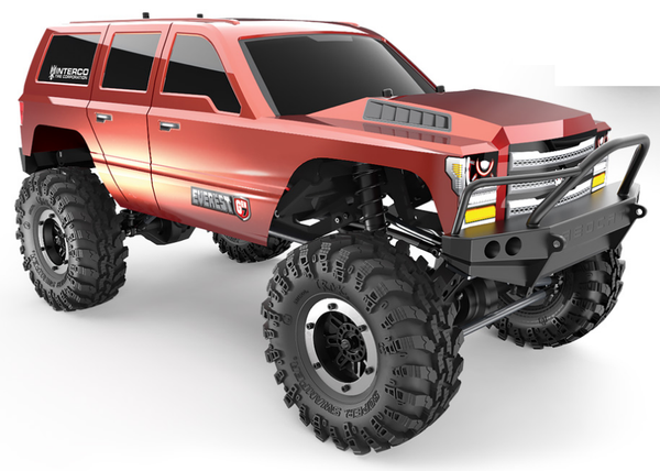 REDCAT Everest GEN7 Sport 1:10 Crawler RTR Orange - RCR131800V1-O