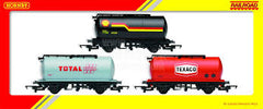 HORNBY FUEL TRAIN - ESSO TANKER, TEXACO TANKER AND BURMA TANKER - R6366