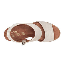 Load image into Gallery viewer, Toms Majora Cutout Sandals - Women's, Natural Yarn Dye