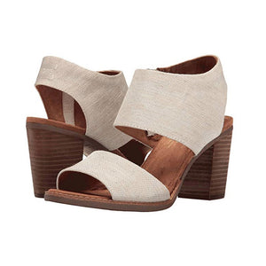 Toms Majora Cutout Sandals - Women's, Natural Yarn Dye