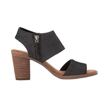 Load image into Gallery viewer, Toms Majora Cutout Sandals - Women's, Black Denim