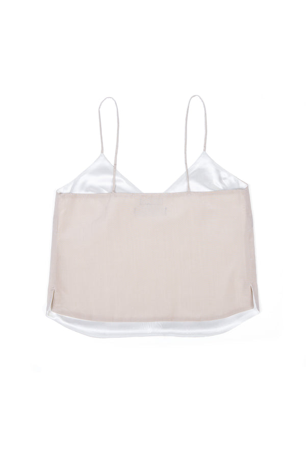 Camisole No 1 - Sandy Silk & Cotton