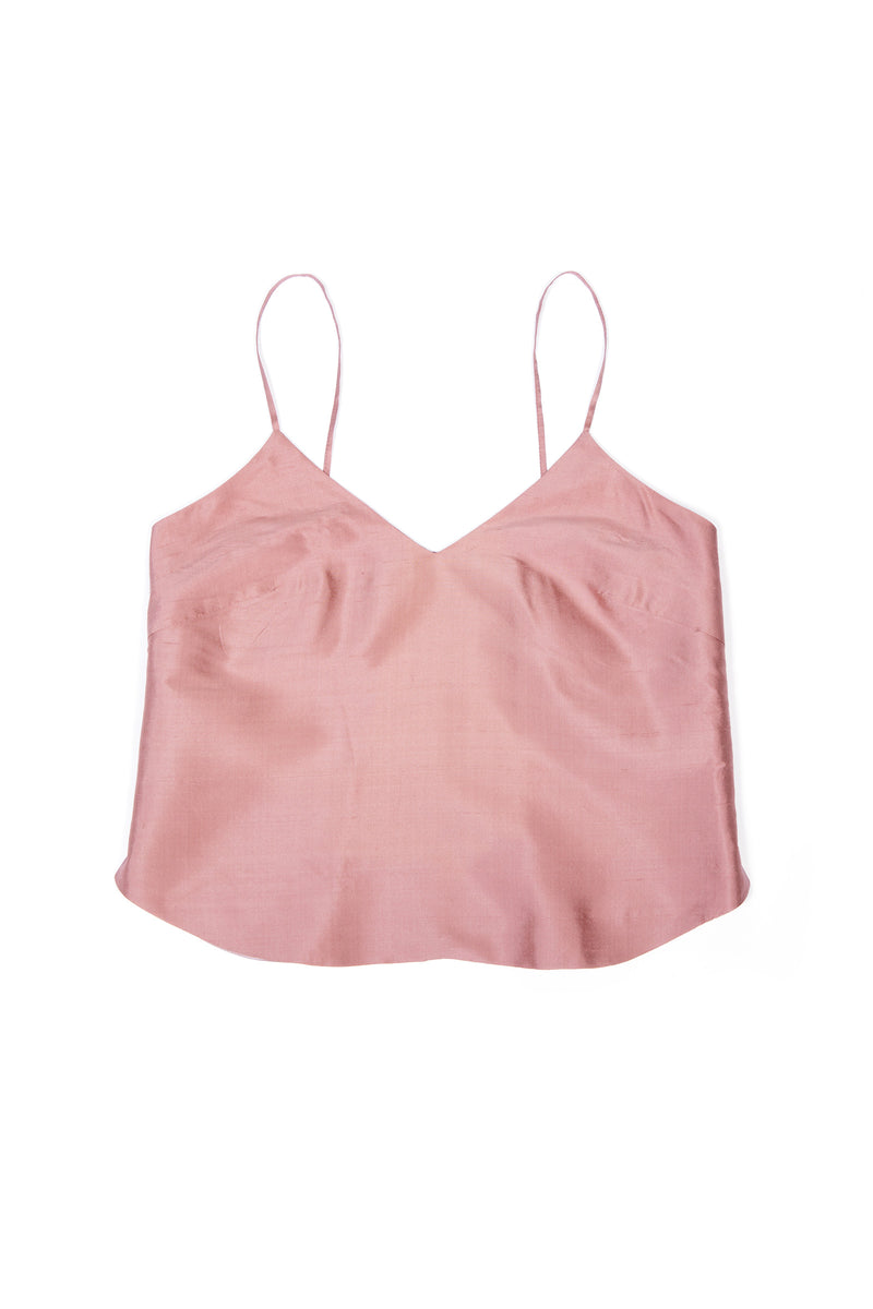 Camisole No 1 - Old Rose Silk