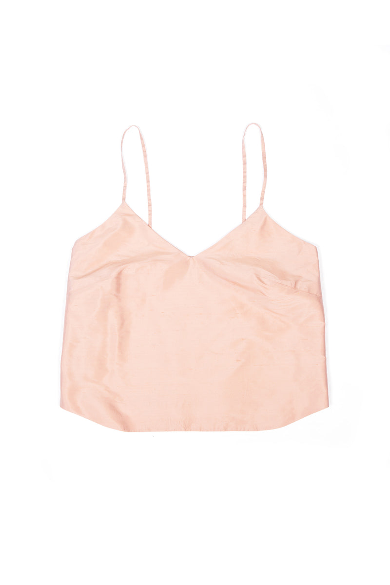 Camisole No 1 - Peach Silk