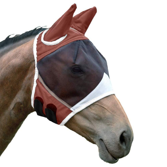 Shires For One Stop Fine Mesh Fly Mask with Ears