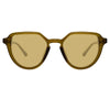 Dries Van Noten 184 C3 Oval Sunglasses