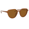 Dries Van Noten 184 C5 Oval Sunglasses
