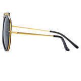 Dries Van Noten 188 C1 Aviator Sunglasses