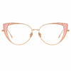 Linda Farrow 855 C13 Cat Eye Optical Frame