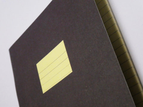 Compat Notebook - Ruled Brown