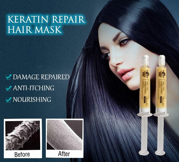 KERATIN REPAIR HAIR MASK (1 BOX)