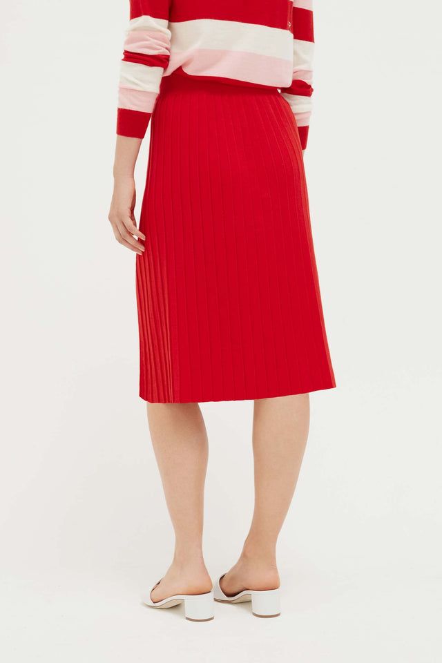 Red Cotton Day Dreamer Skirt image 4