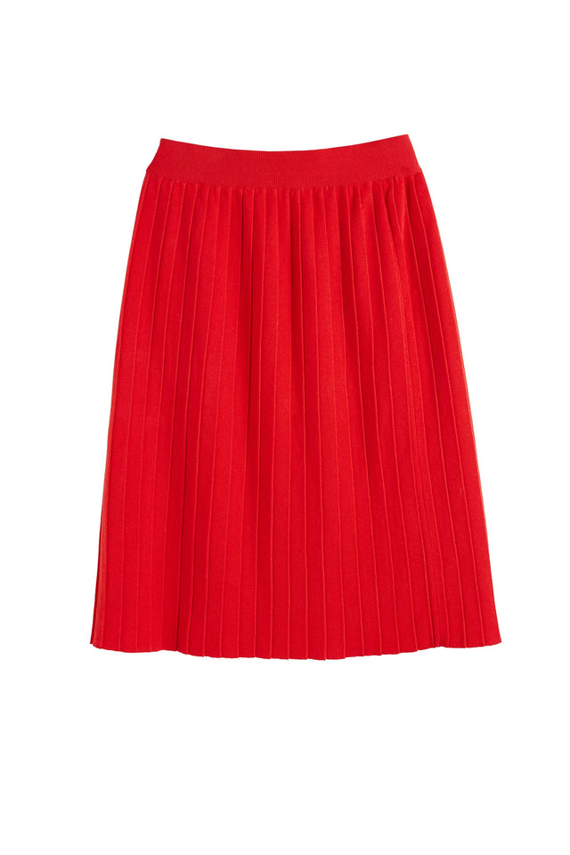 Red Cotton Day Dreamer Skirt image 2