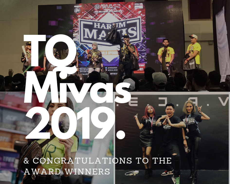 Malaysia International Vape Summit (MIVAS) 2019: The Winners