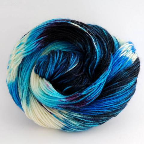 Arctic Midnight in Fingering / Sock Weight