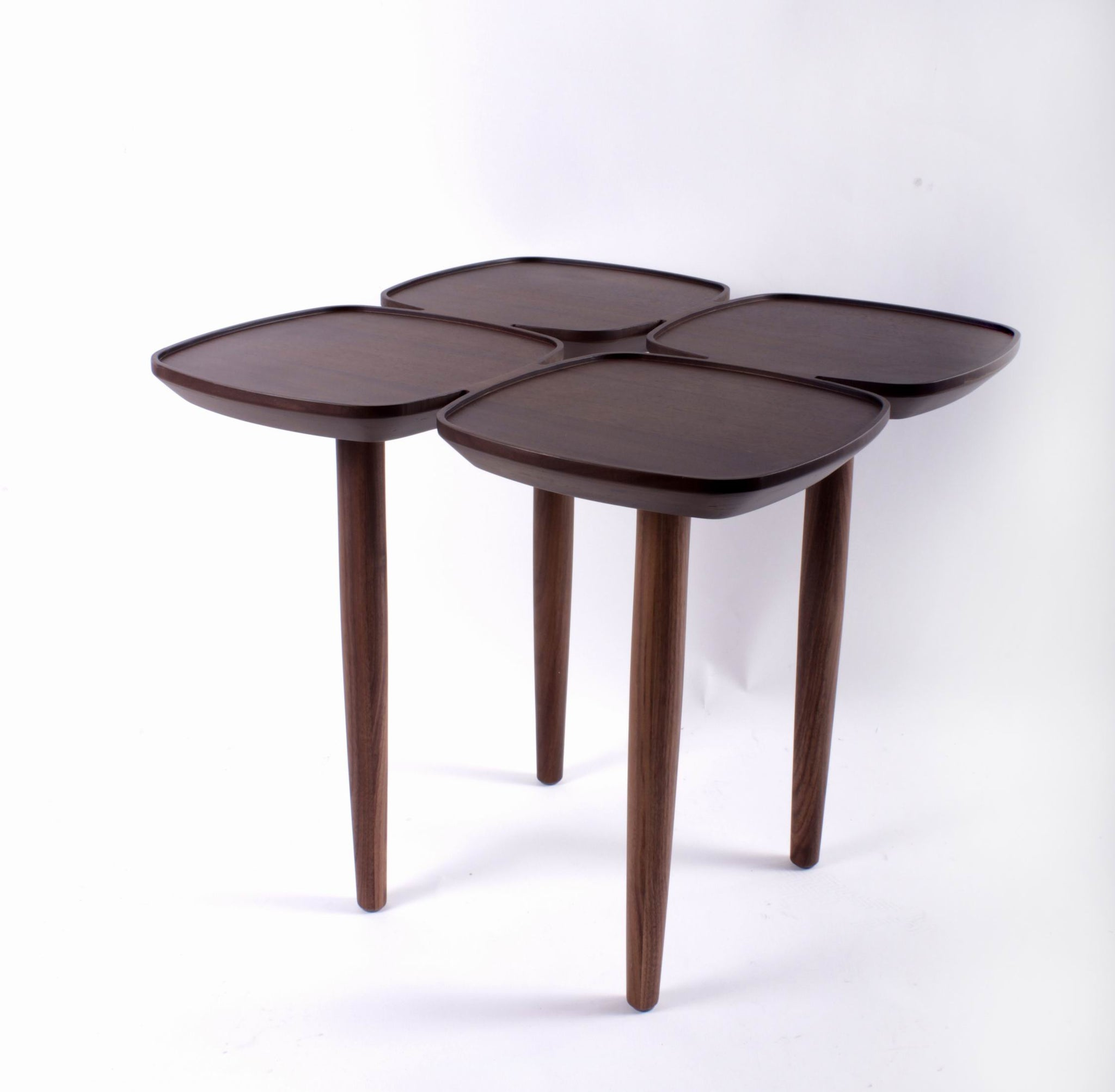 The Francine Side Table in Solid Walnut [FET7219AH]
