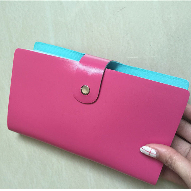 High Quality Leather Credit Card Holder - Lellasbags