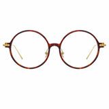 Linda Farrow Linear 9 C3 Round Optical Frame
