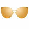 Linda Farrow 895 C1 Cat Eye Sunglasses