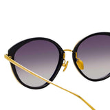 Linda Farrow 912 C1 Cat Eye Sunglasses