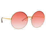 Matthew Williamson 242 C4 Round Sunglasses
