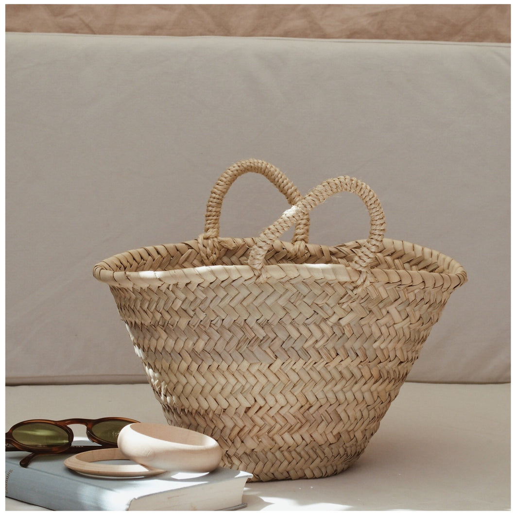 MIKANU MINI STRAW HANDBAG