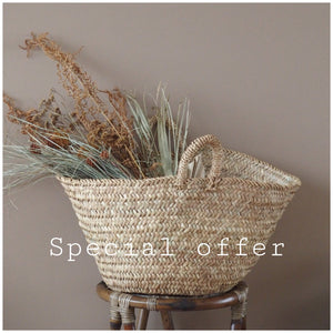 MIKANU SPECIAL OFFER - BASKET BAG