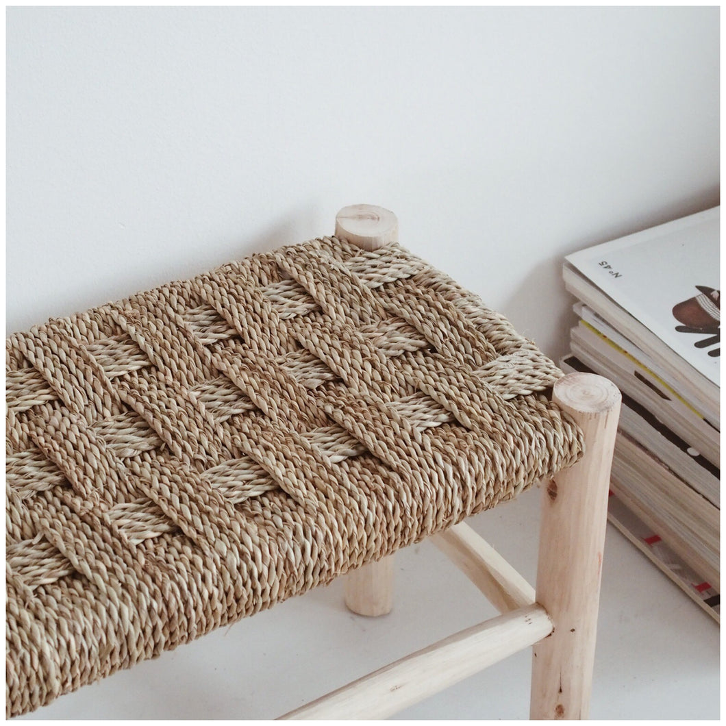COMING BACK SOON /// MIKANU BRAIDED BENCH - YANIS