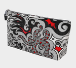 Nightmare In Red Gothic Art Makeup Bag