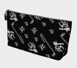 Chained Monsters Cute Gothic Art Print Makeup Bag