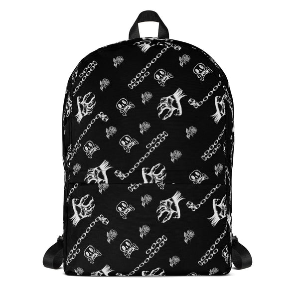 Chained Monsters Gothic Art Print Backpack