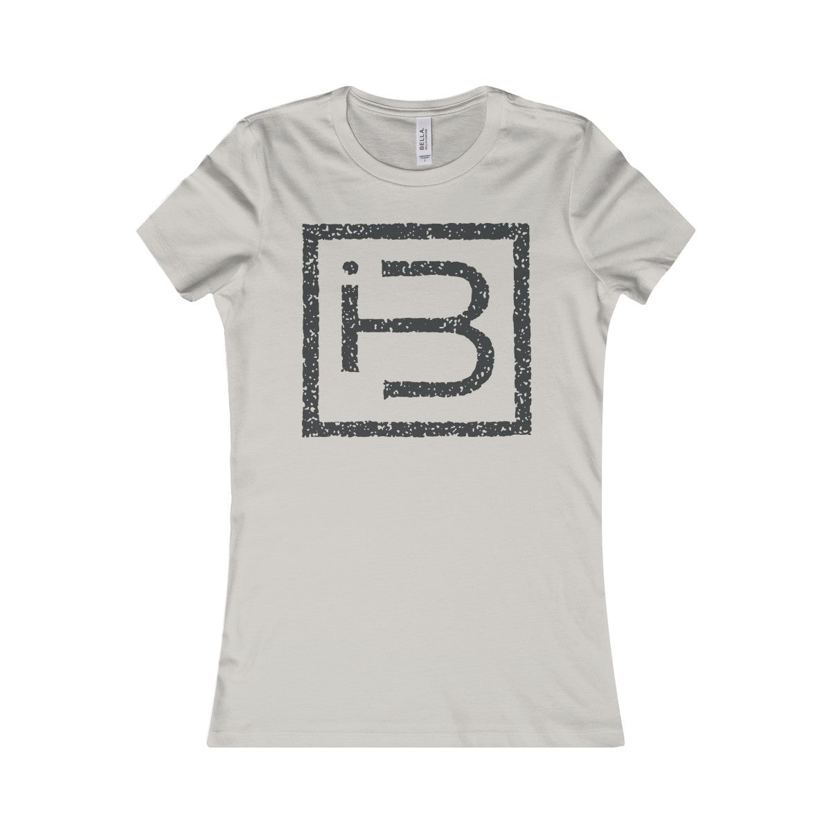 Women's Large IB Logo Tee (black)