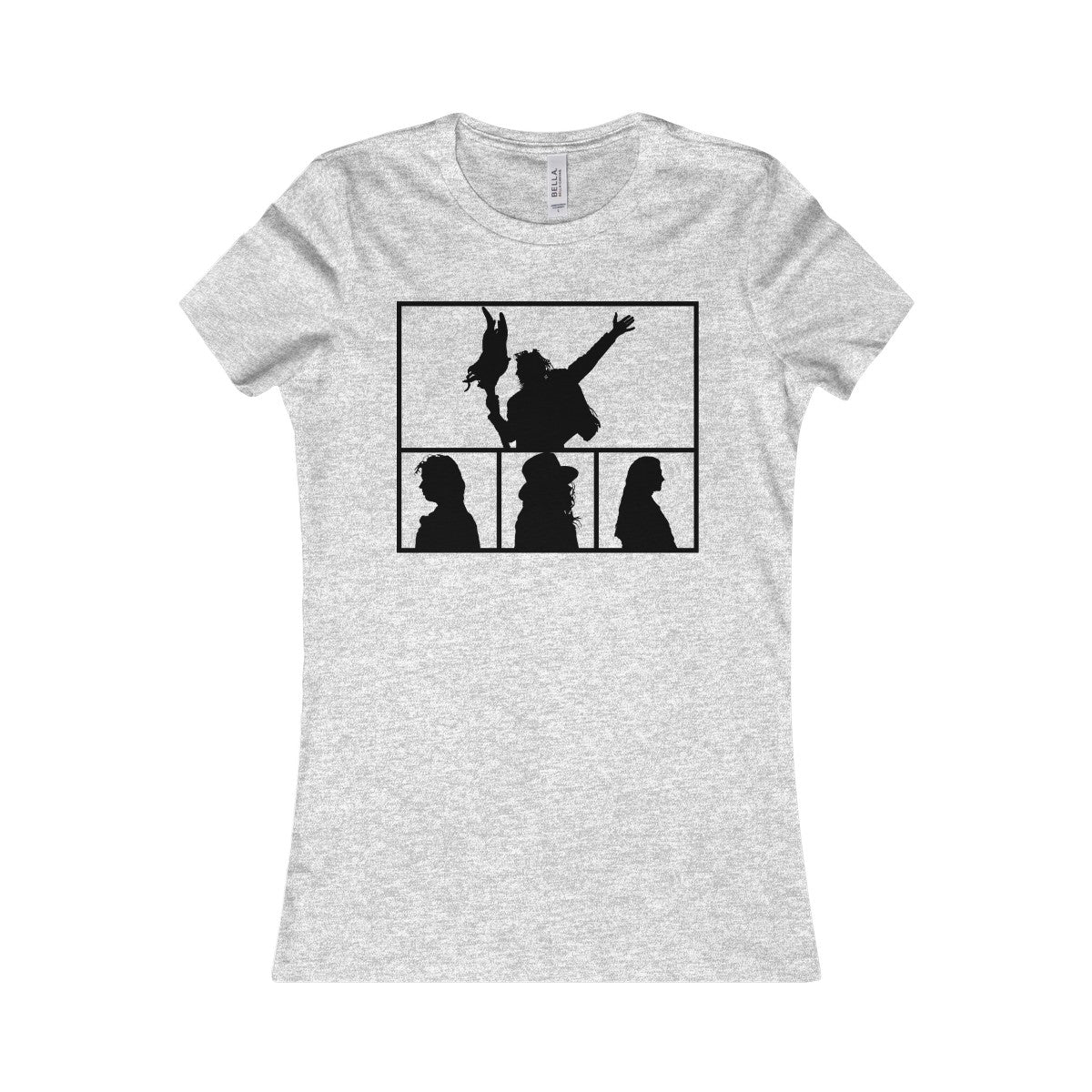 Women's Band Silhouette Tee