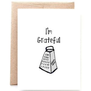 I'm Grateful Thank You Card