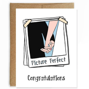 Picture Perfect Wedding Card
