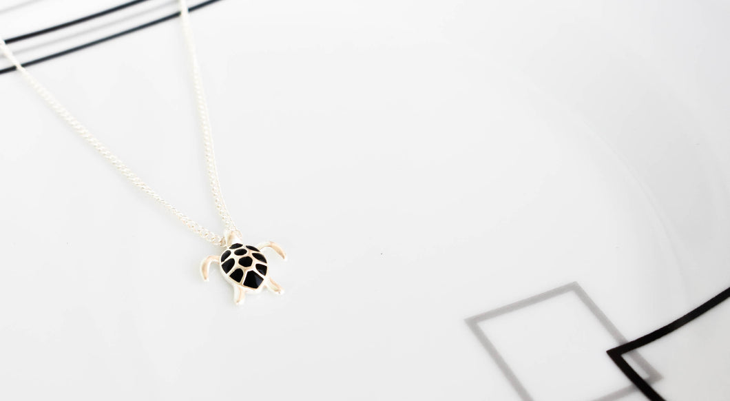Forward Turtle Necklace