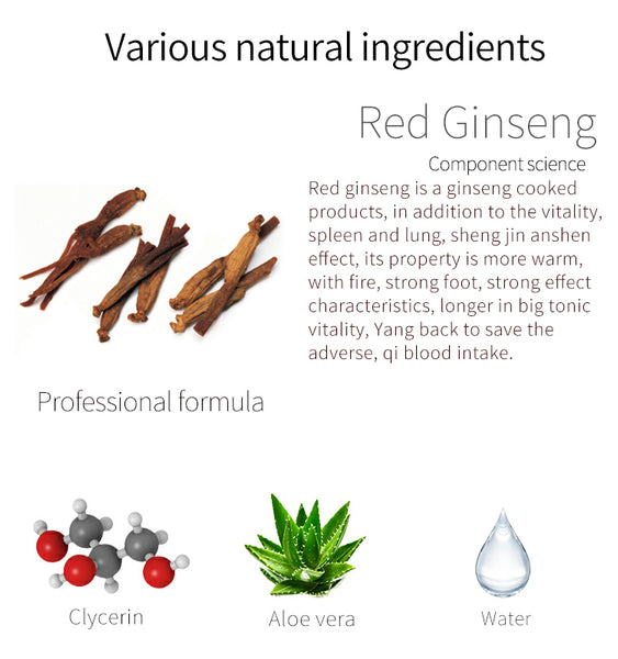MITOMO Natural Red Ginseng Elasticity Brightening Facial Essence Mask MT612-C-9