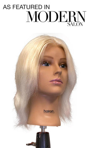 "Olivia-12"" [100% European Hair Mannequin]"