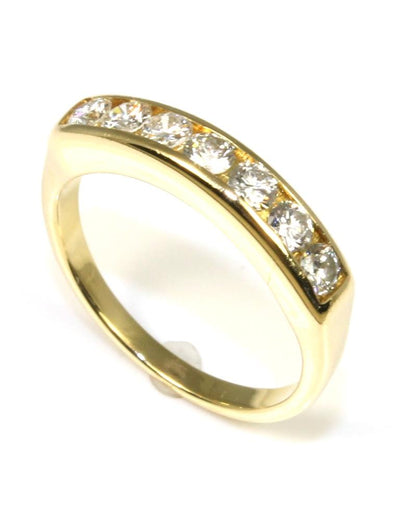 Diamond .50ctw Round Channel Band