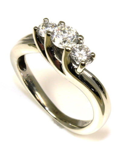 .63ctw Diamond Three Stone Ring, 5360