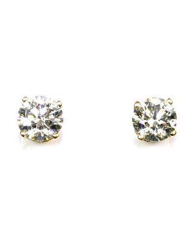 3/4ctw Diamond Stud Earrings, 6173