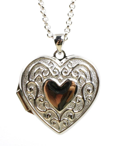 Heart Shaped Locket Necklace, 3968