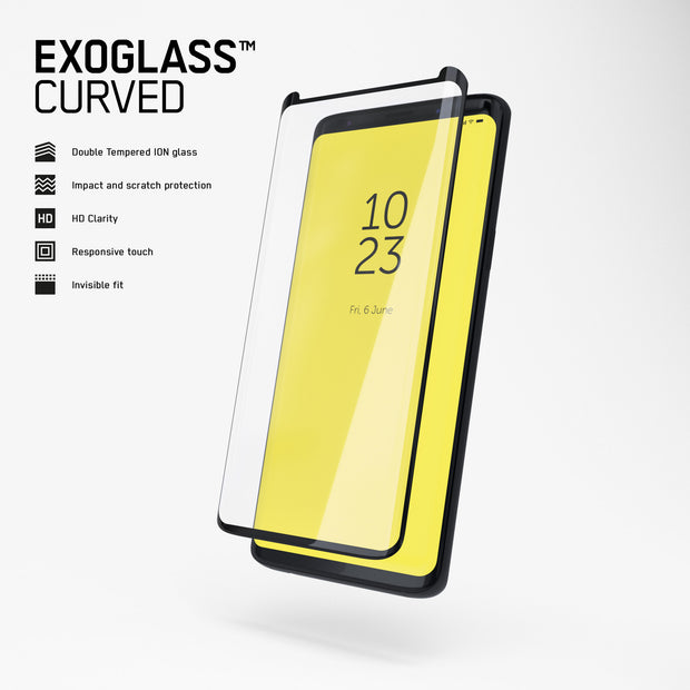 Exoglass™ Curved | Samsung Galaxy S9
