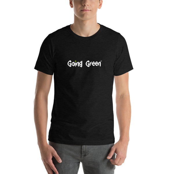 Short-Sleeve T-Shirt - Going Green - Weed