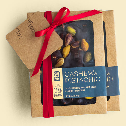 Just Pistachios — 80% Dark Chocolate Bark