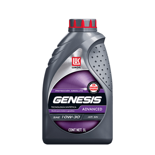 Aceites de motor - GENESIS Advanced SAE 10W-30 - Lukoil Lubricants Mexico