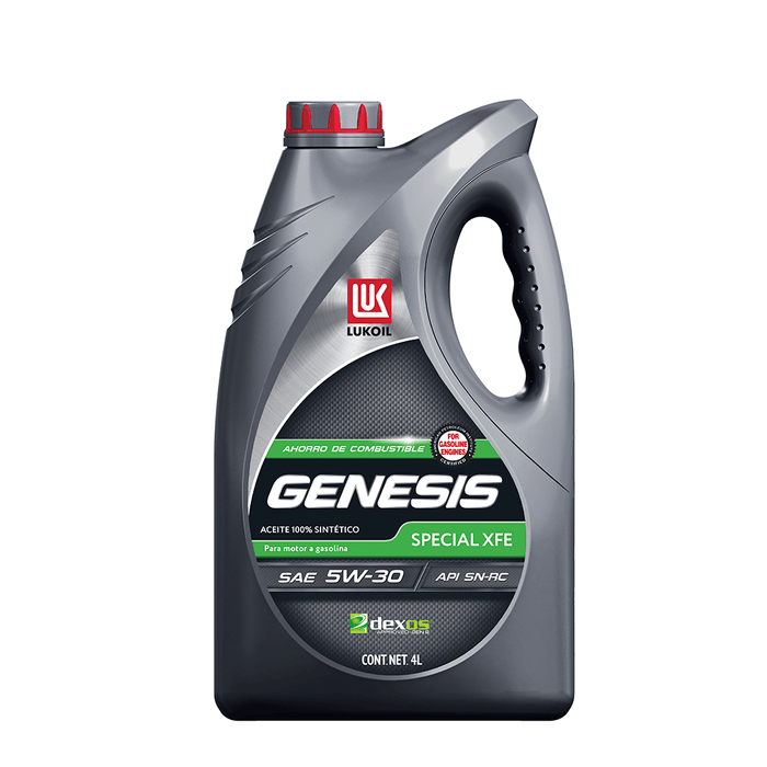 Aceites de motor - GENESIS Special XFE SAE 5W-30 - Lukoil Lubricants Mexico