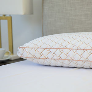 Copper-Infused Memory Foam Cluster Pillow